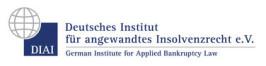 Logo Deutsches Institut für angewandtes Insolvenzrecht